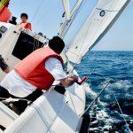 大海原にロマン求め ヨット部試乗会