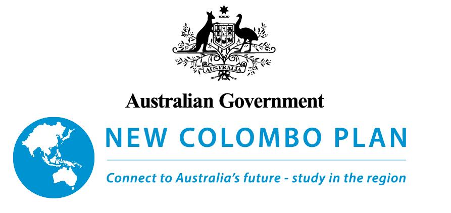 オーストラリア国章とNCPロゴ
